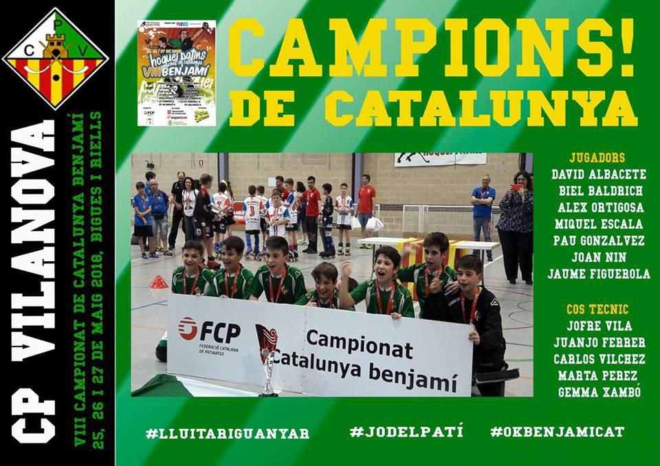 """EL Benjamí """"A"""" Campìó de Catalunya"""