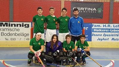 L'Aleví A al Torneig Internacional de Hockey Patins a Wimmis