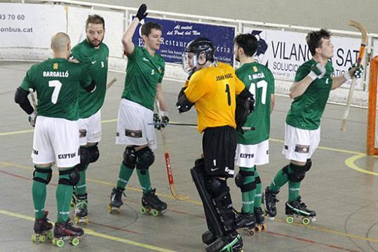 Primera victòria del Vilanova com a local davant el Mataró